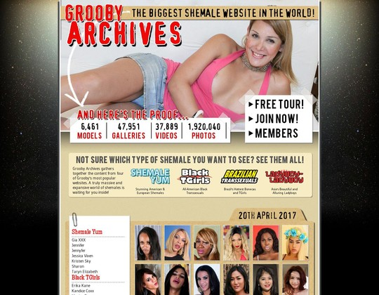 The Grooby Archives