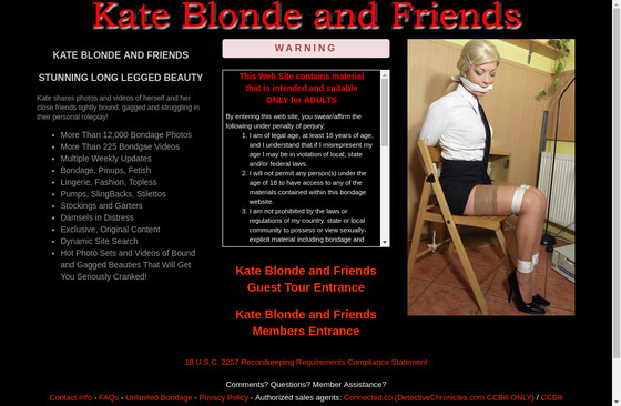 Kate Blonde and Friends