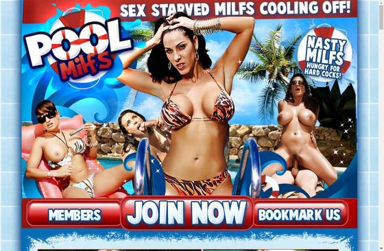 Pool Milfs
