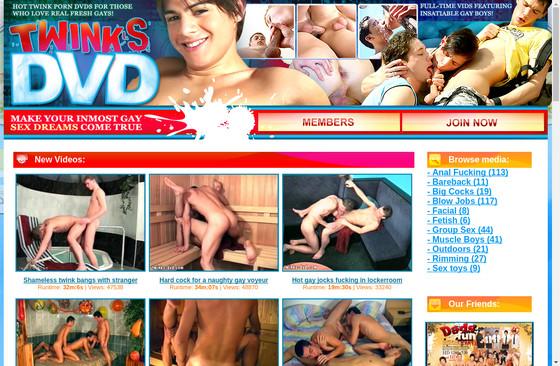 Twinks DVD