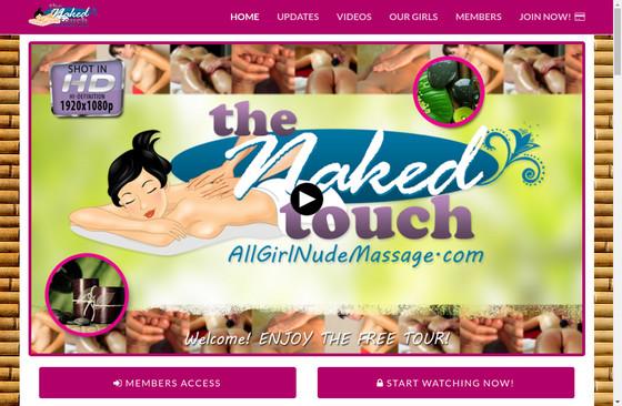 All Girl Nude Massage