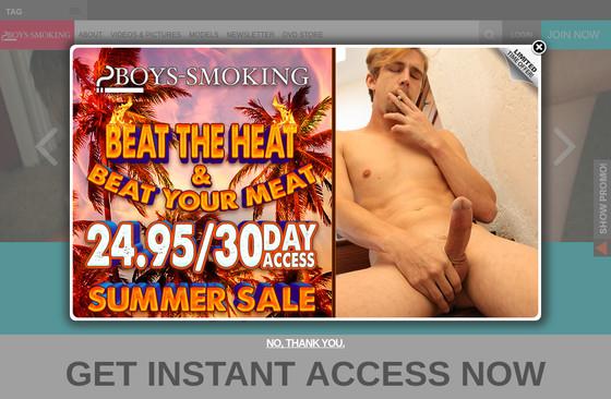 Boys -Smoking