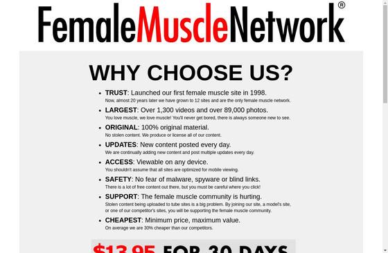 Female Muscle Handjobs
