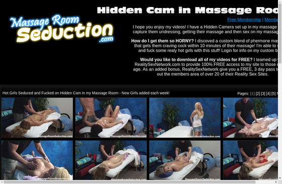 Massage Room Seduction Videos