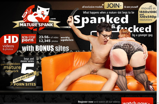Mature Spank