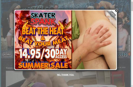 Skater Spank