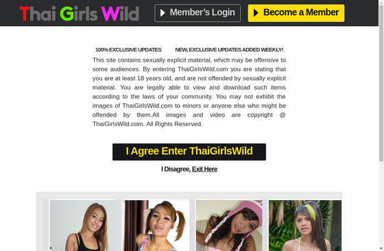 Thai Girls Wild