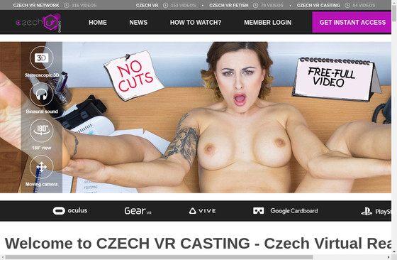 Czech VR Casting
