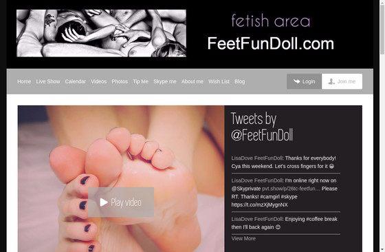 Feet Fun Doll