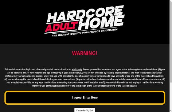 Hardcore Adult Home