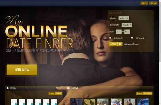 My Online Date Finder