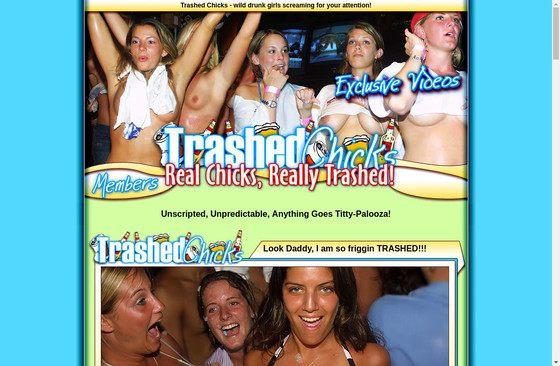 Trashed Chicks