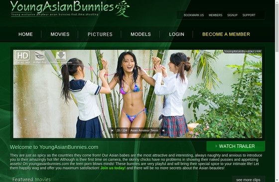 Young Asian Bunnies
