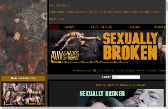 Sexually Broken