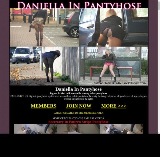daniella in pantyhose
