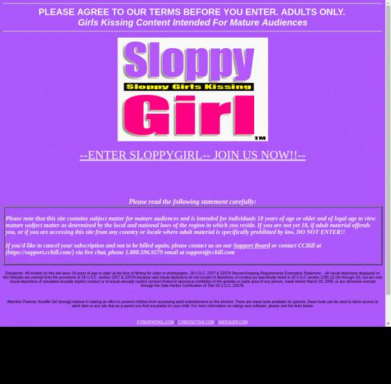sloppy girl