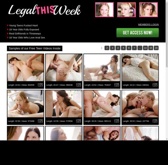 legal this week