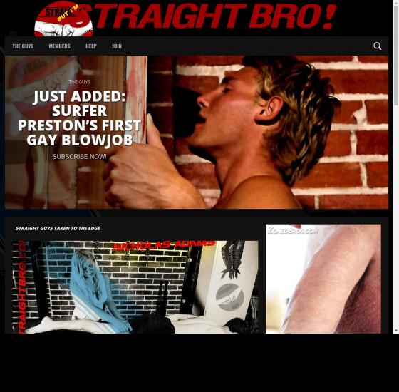 straight bro