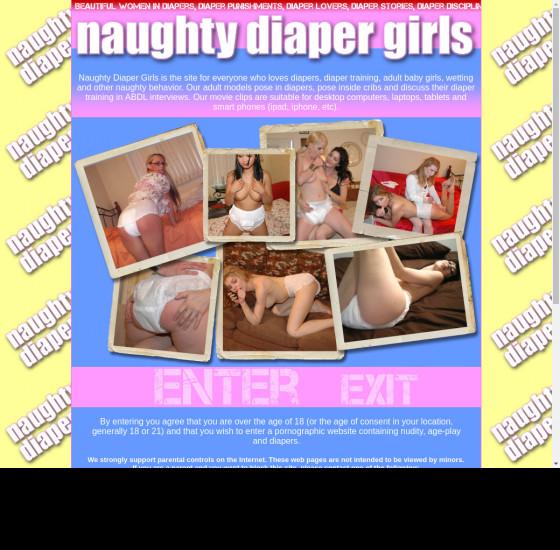 naughty diaper girls